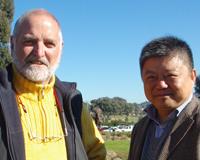 Prof Finlayson and Prof Shi