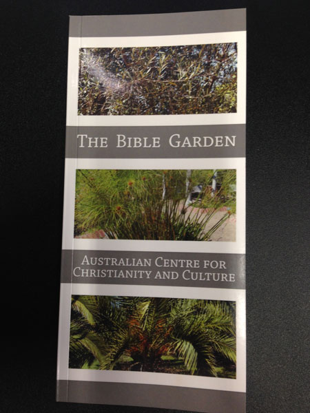 The Bible Garden Book