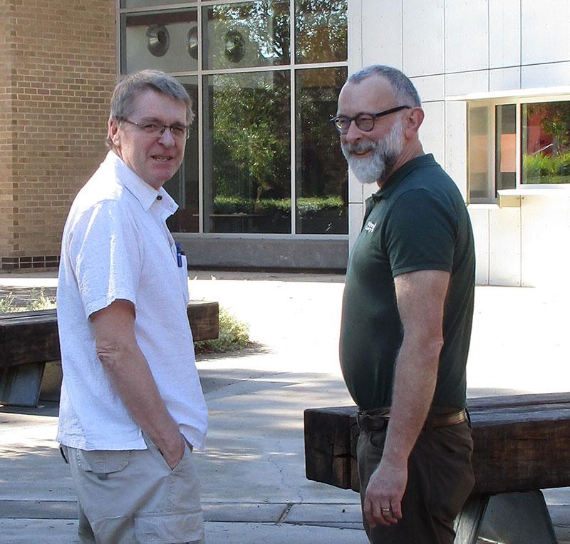 Prof Ken Irvine and Prof Doug Shaw