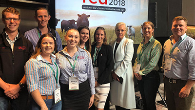 Harry Meek (UG), Thomas Williams (PG), Emma Fallon (UG), Rebecca Owen (UG), Emma Lynch(PG), Cara Wilson(PG), Dr. Michele Allan (CSU Chancellor Chair of MLA), Alex Shanley (UG), Michael Campbell.