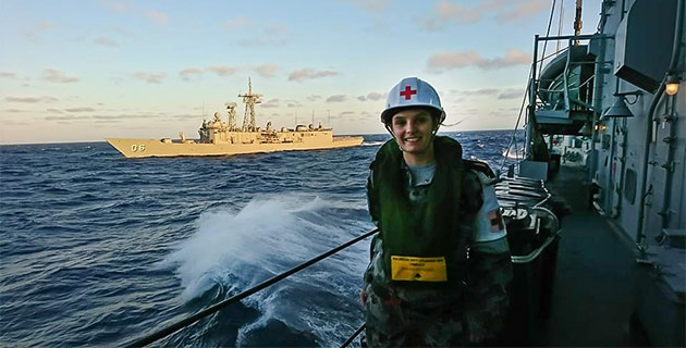 Experience Matters: how I studied my Charles Sturt University nursing degree from the high seas