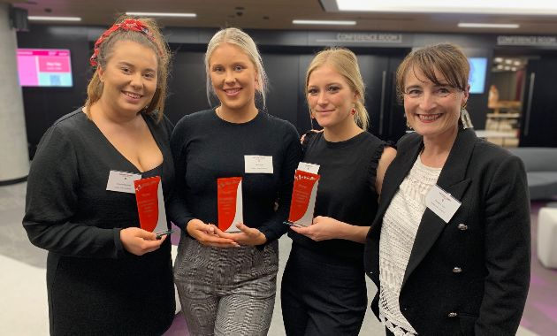 Charles Sturt Public Relations students win national competition