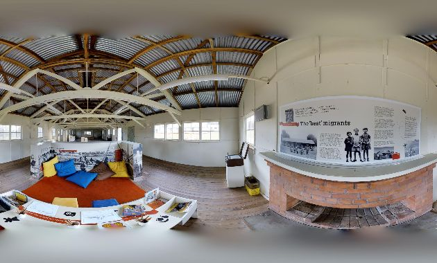 Charles Sturt academics create 3D virtual tour of the migrant experience in Bonegilla's Block 19