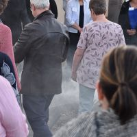 Ngunnawal Elder Tina Brown gave the Welcome to Country and Smoking Ceremony at the Welcome Reception. Photograph by Sarah Stitt