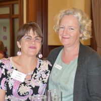 Delegates from Anglicare Pamela Proudfoot & Kate Horne. Photograph by Sarah Stitt