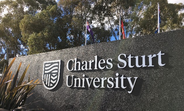 Charles Sturt's sustainability praised at International Green Gown Awards