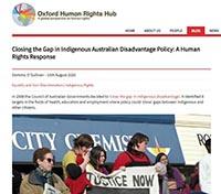 Closing the Gap Oxford Human Rights Hub
