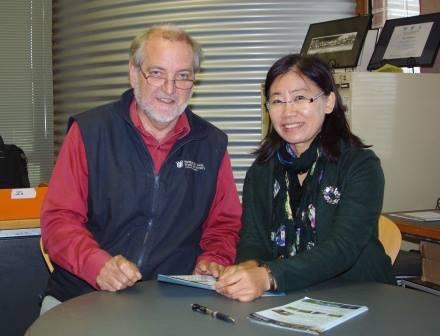 prof Max Finlayson and Prof Cui Lijuan