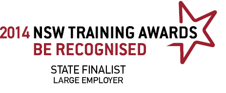 NSW TRAINING AWARDS STATE FINALIST 2019 - LARGE EMPLOYER