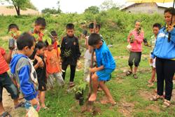 Tree Planting Lao Fish Passage project