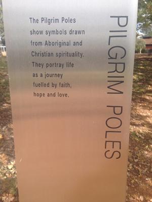 Pilgrim Poles Sign