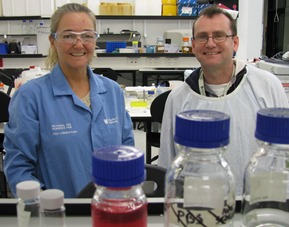 Dr Robyn Wallace and Dr Padraig Strappe