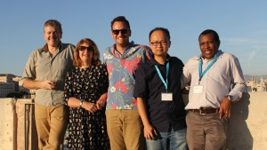 Photo of Graham Centre researchers at the International Society of Allelopathy 8th World Congress