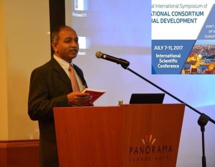 ICSD president Prof Manohar Pawar