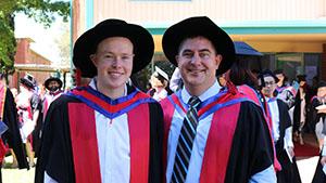 Dr Kyle Reynolds and Professor Chris Blanchard