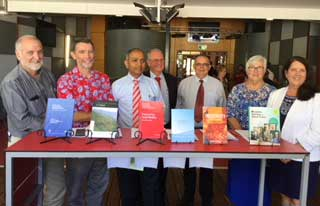 ILWS Authors with their books