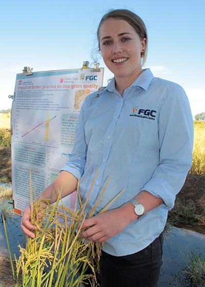 PhD candidate Rachael Wood courtesy of NSW DPI