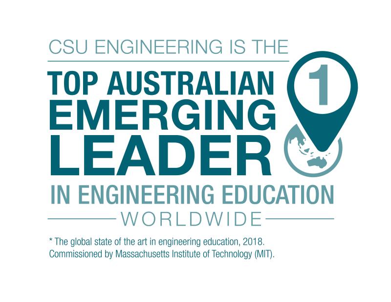 CSU Engineering is the top Australian emerging leader in engineering education worldwide
