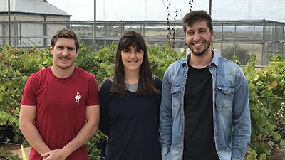 Diego Danus, Valentina Romat, and Luca Filannino