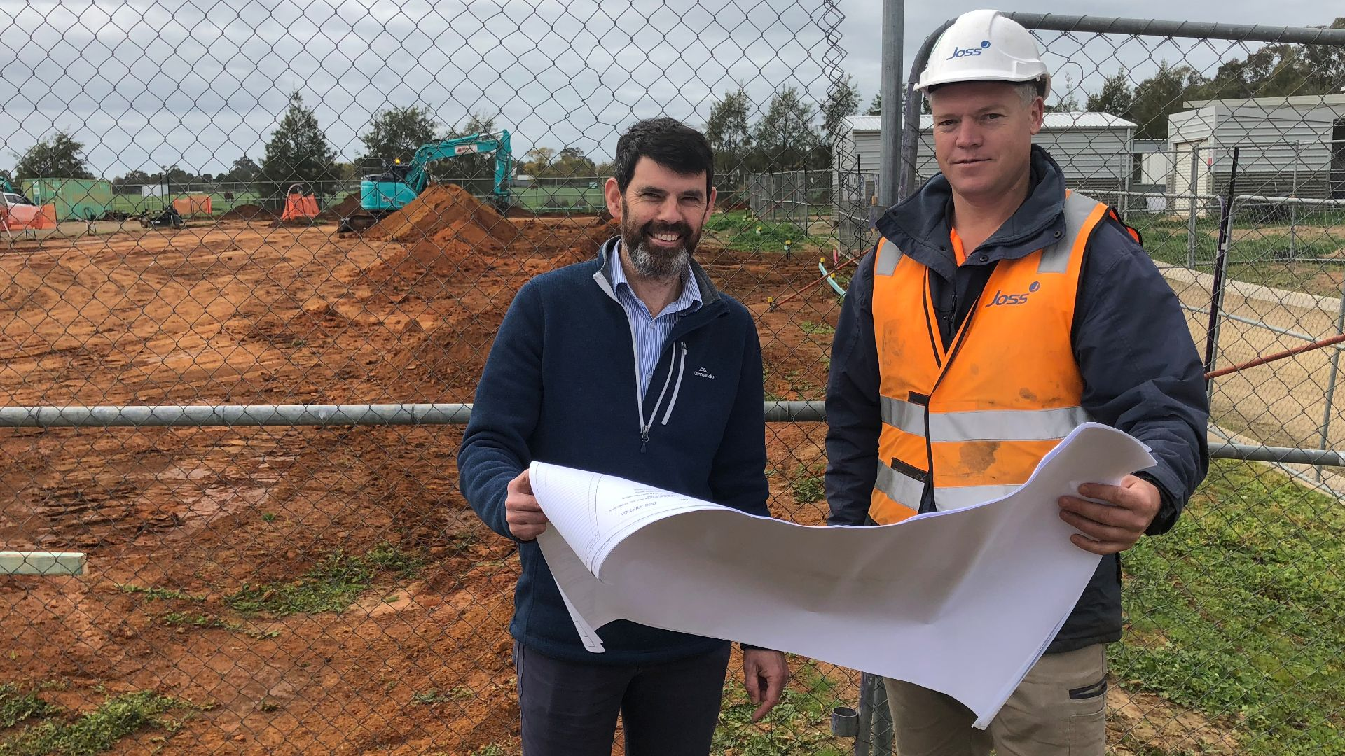 Work begins on Charles Sturt's Equine Isolation Facility in Wagga Wagga
