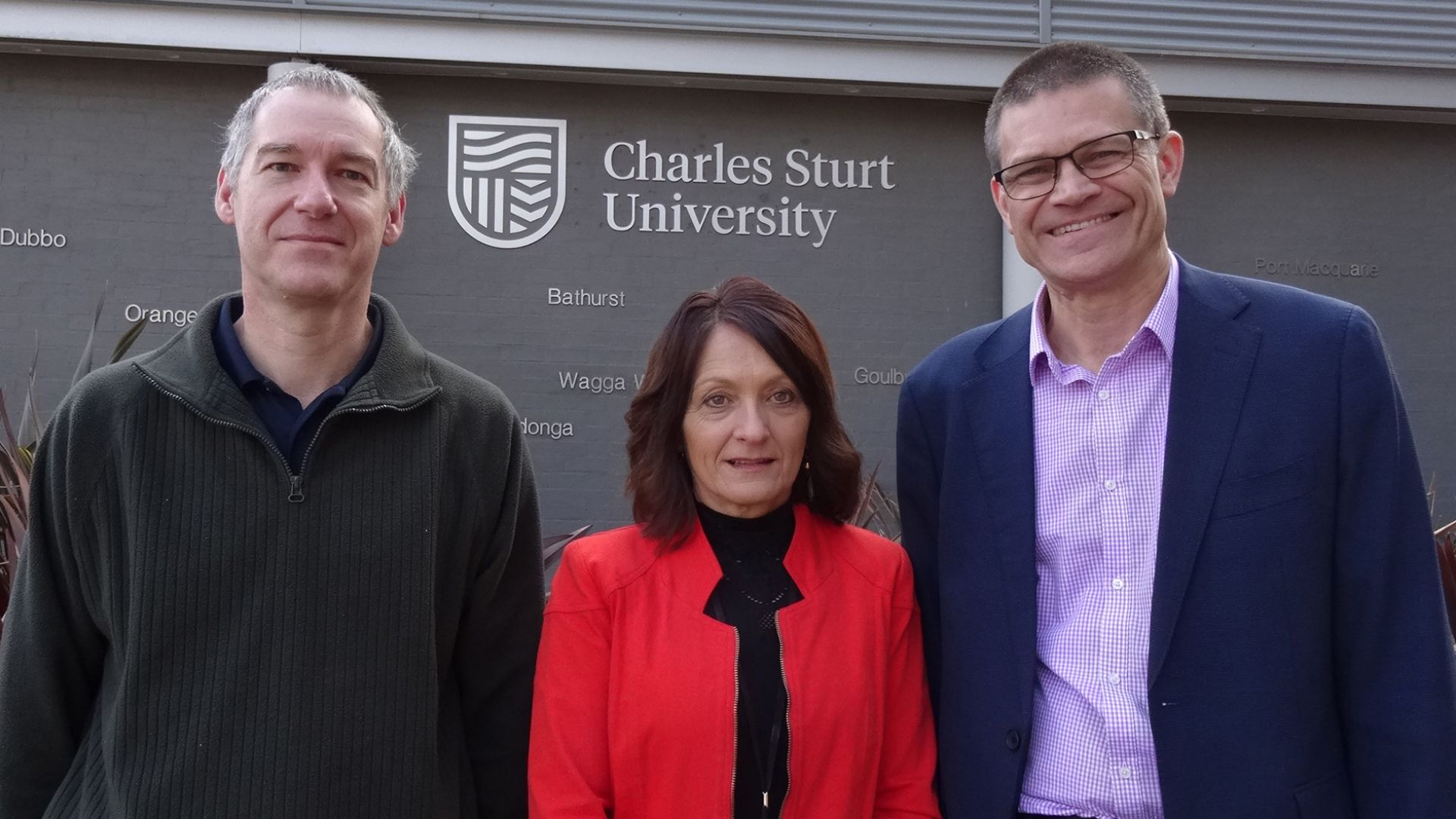 Staff chalk up 30 years at Charles Sturt in Bathurst