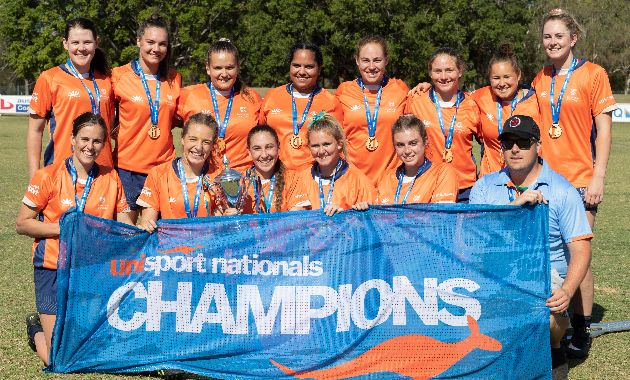 Elite Athlete Program students excel at UniSport Australia Nationals competition