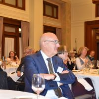 Paul Bongiorno at the conference dinner. Photograph by Sarah Stitt