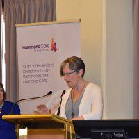 Caroline Adams and Marg Holt present a paper. Photograph by Sarah Stitt