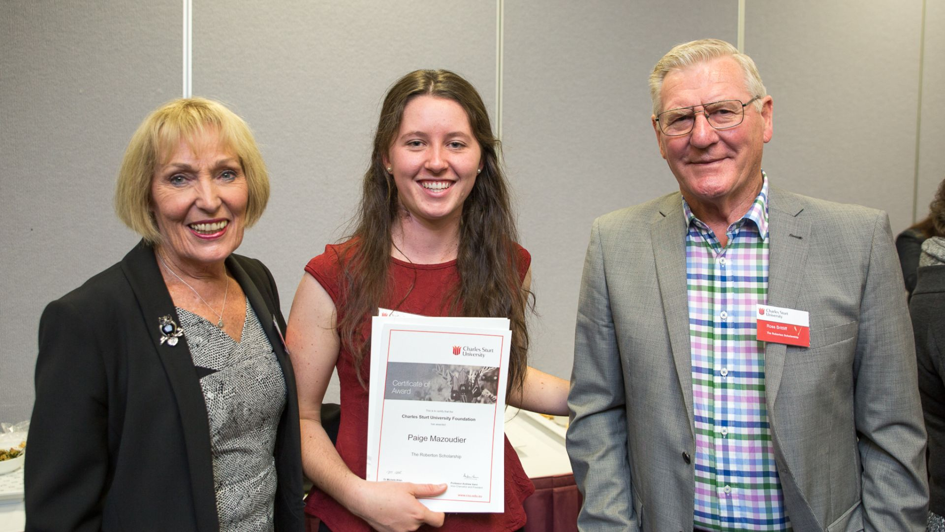 Charles Sturt graduates recommend students apply for scholarships
