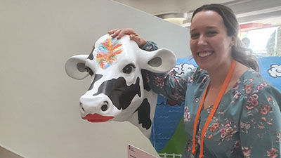 Veronika Vicic at the Australian Dairy Conference