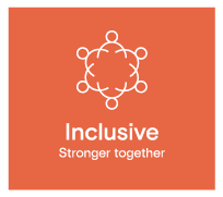 Inclusive - Stronger together