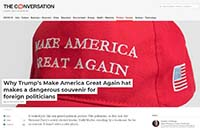 O'Sullivan The Conversation MAGA hat