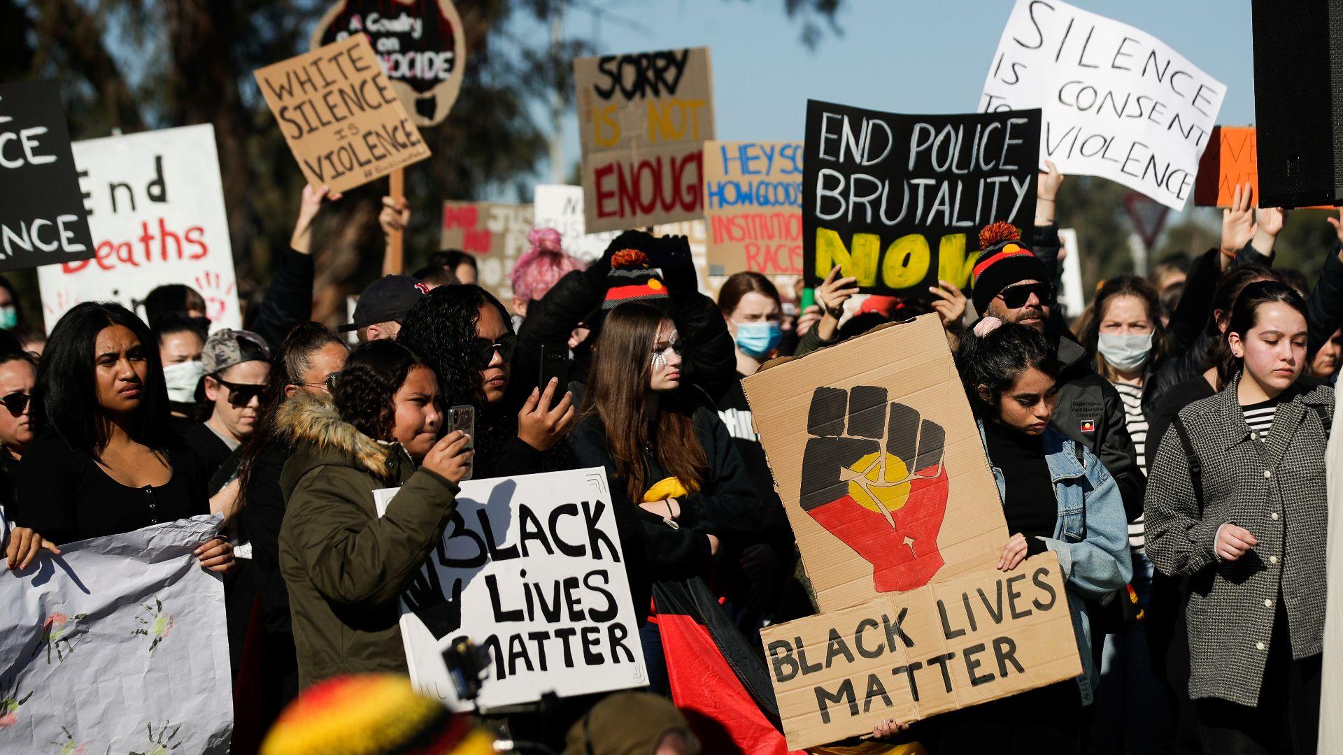 Black Lives Matter at Charles Sturt University