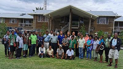 stakeholders meeting in PNG