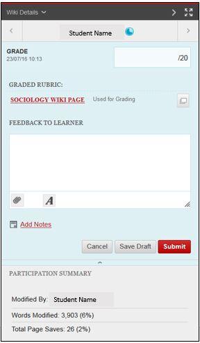 Individual wiki marking