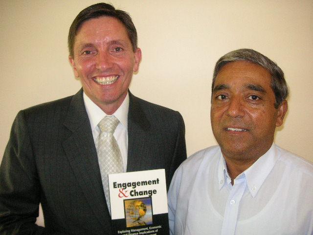 Associate Professor Grant O'Neill and Dr PK Basu