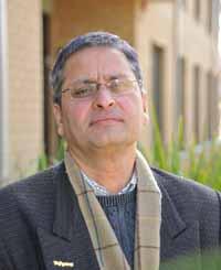 Associate Professor Kishor Sharma.