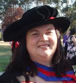 Dr Yvette Zurek at her graduation in December 2012