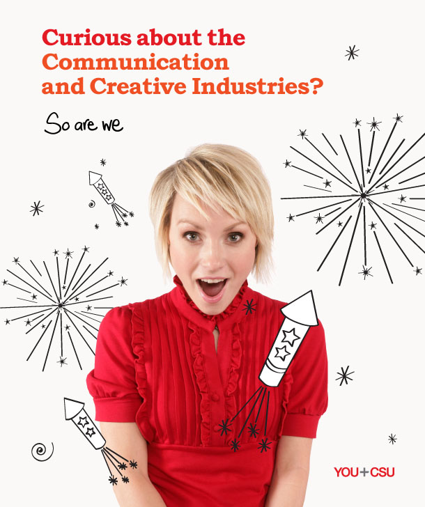 CSU has a new suite of courses for the communication and creative industries.