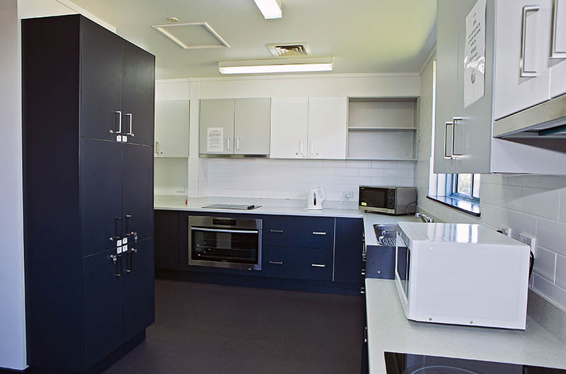 Kitchen area in the CPD