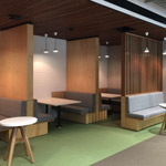 Port Macquarie Study booths on Level 1