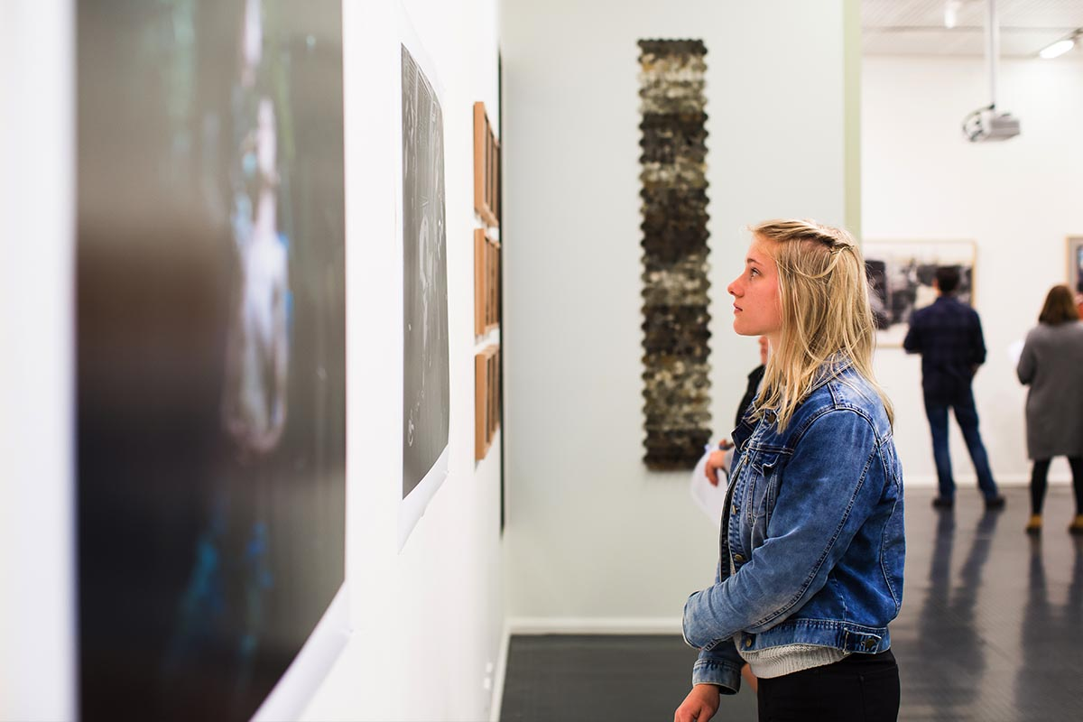Have the opportunity to showcase your creativity in seasonal exhibitions at CSU's own H.R. Gallop Gallery.