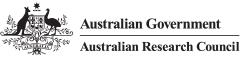 logo of Australian Research Council