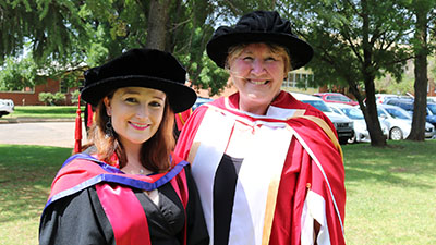Dr Rebecca Heim and Associate Professor Gaye Krebbs