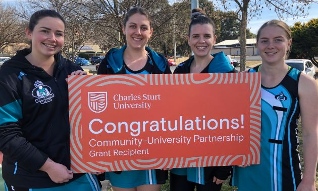 Winners of Charles Sturt's Community-University Partnership grants revealed
