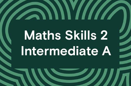 Maths Skills 2 - Intermediate A