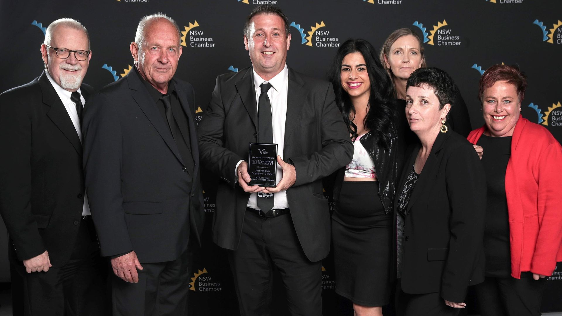 Charles Sturt Campus Services Limited recognised as 'outstanding employer'