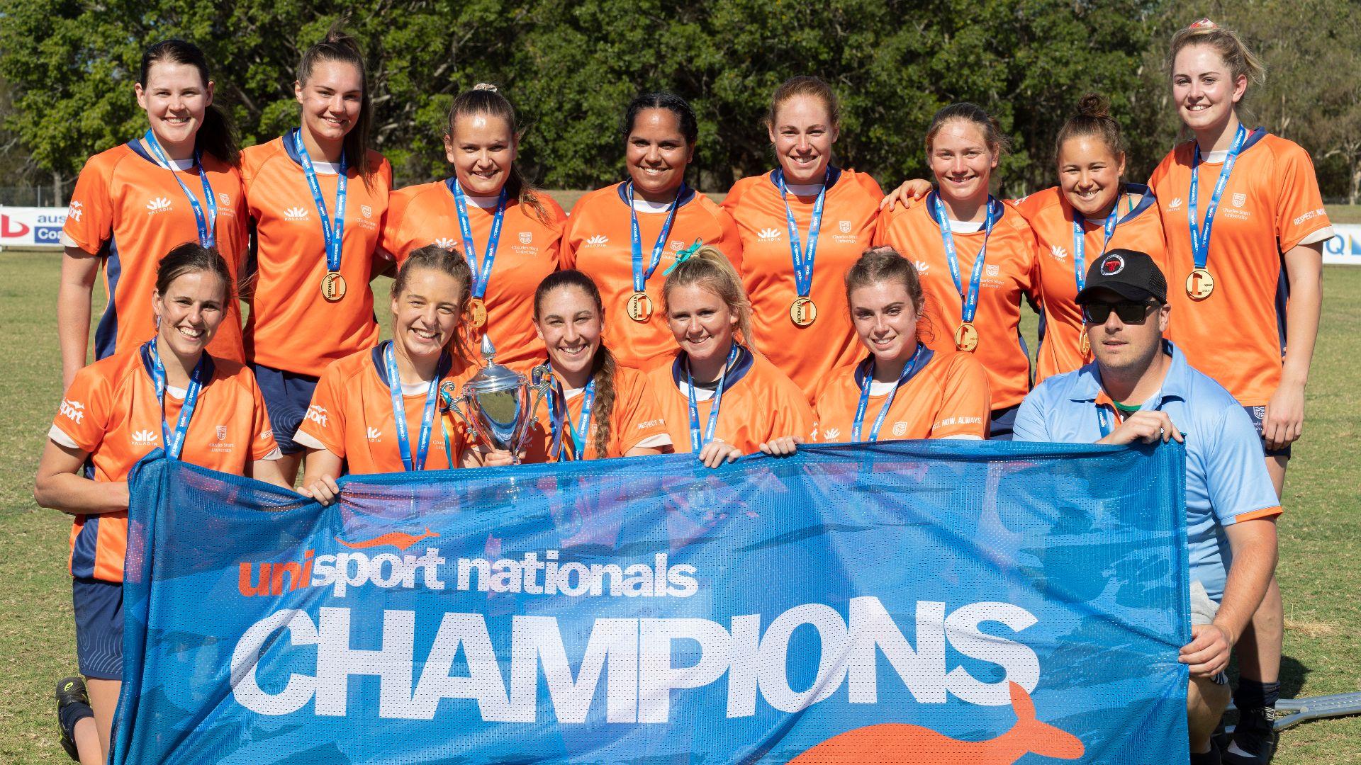 Elite Athlete Program students excel at UniSport Australia Nationals competition