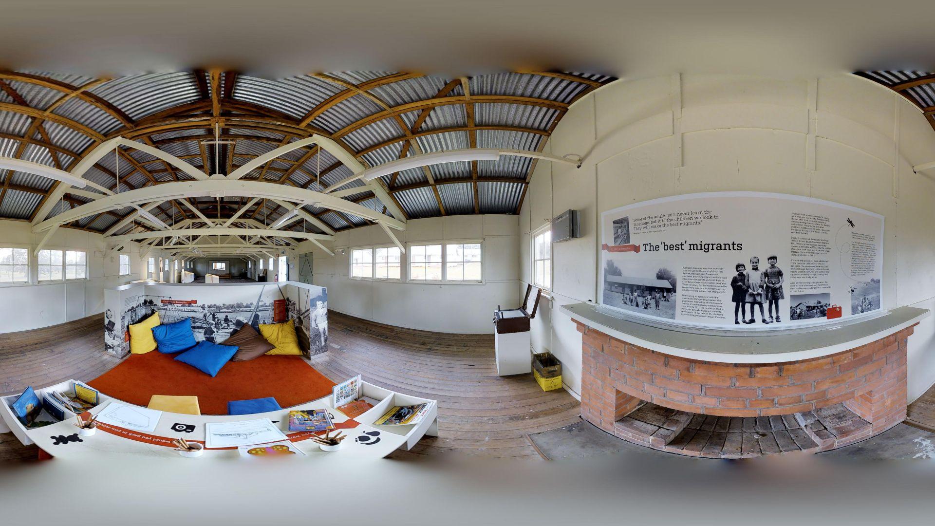 Charles Sturt academics create 3D virtual tour of the migrant experience in Bonegilla's Block 19