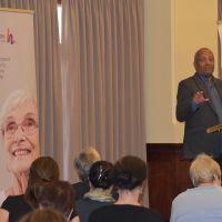 "Professor John Swinton gave a keynote address on Monday 28 October titled ""Reimagining Personhood: Dementia, Culture and Citizenship"" Photograph by Sarah Stitt"